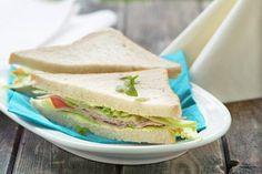 Schinken-Sandwich - Rezept