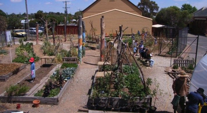 Kitchen garden design for home and schools with curriculum resources ...