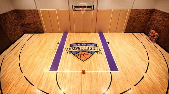 Indoor Basketball Court D Vegas Suites Unusual Hotels Indoor Basketball Court