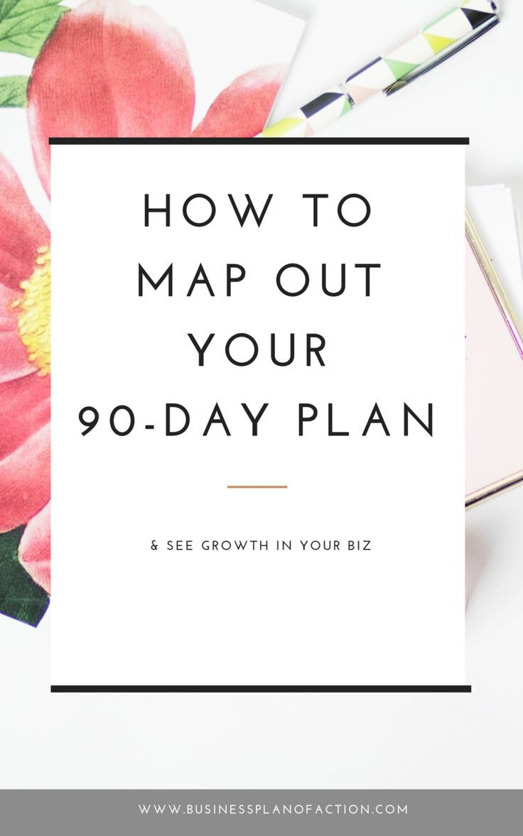 How to Map Out Your 90-Day Plan & See Growth — Business Plan of Action