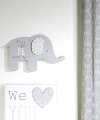 Wendy Bellissimo Nursery Separates Elephant Wall Art Baby Nursery