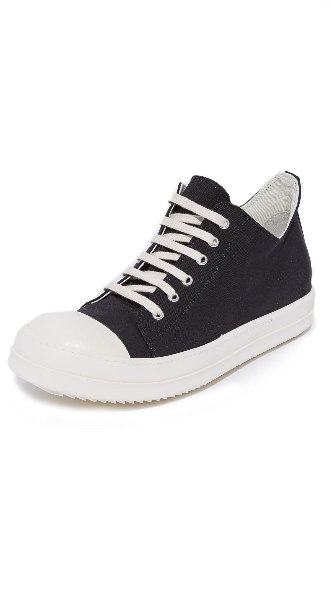 RICK OWENS DRKSHDW Low Top Sneakers.  rickowensdrkshdw  shoes  sneakers 2064aa8f5c