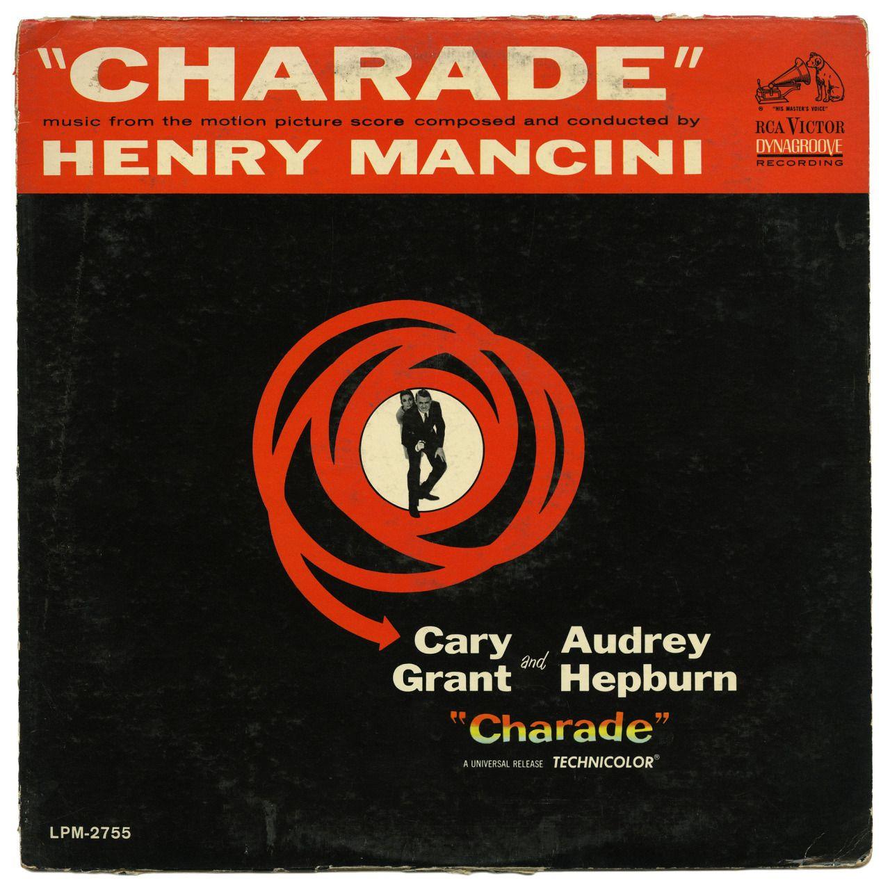 "thriftstorerecords: "" Charade Henry Mancini RCA Victor Records/USA (1963) """