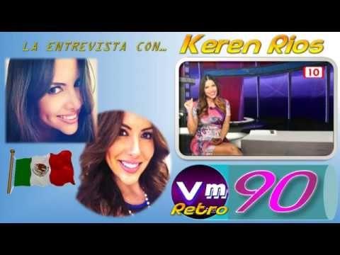 @VMAGAZINEMX 90 #LAENTREVISTACON... @KERENRIOSTV (retro año 2012)