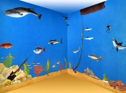Create An Undersea Theme Room! Childrenu0027s Ocean And Sea Life Bedding, Wall  Art, Murals, And More Under The Sea Bedroom Themes At Kids Decorating Ideas!