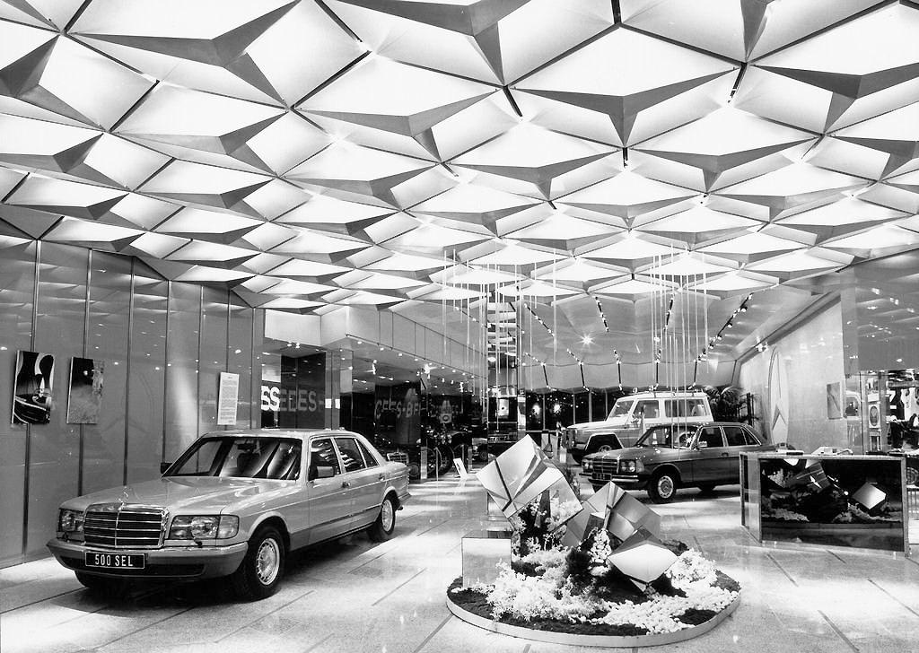 1981 Mercedes Benz Models LineUp At The Paris Auto Show
