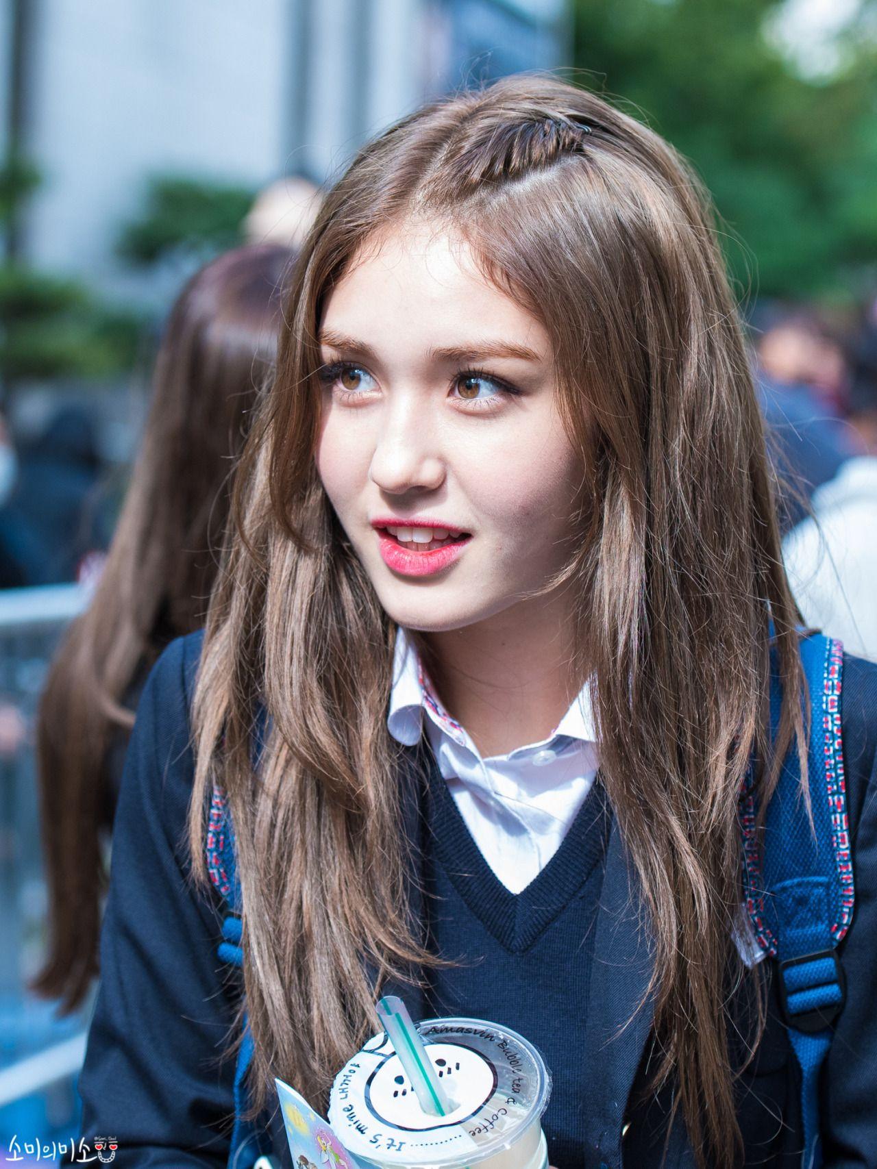 Jeon Somi Korean Canadian Singer Gaya Rambut Gaya Rambut Korea Ide Gaya Rambut