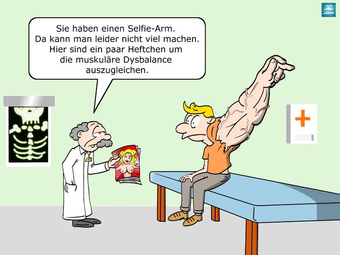 Witzige Cartoons Arbeit