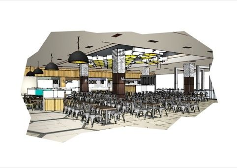 The food hall | Best Retail Display, Floor and Visual
