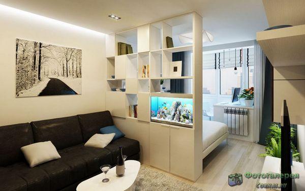 Дизайн однокомн. квартиры
