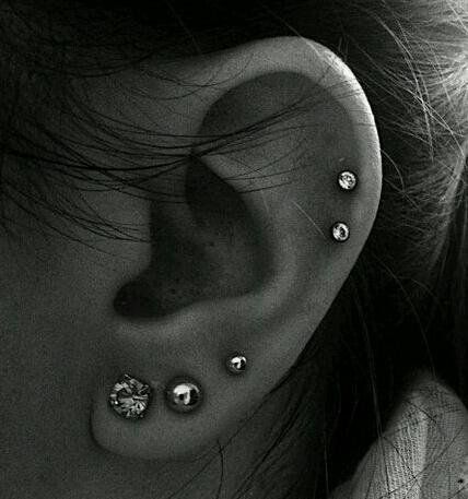 Little Piercings on #earpeircings
