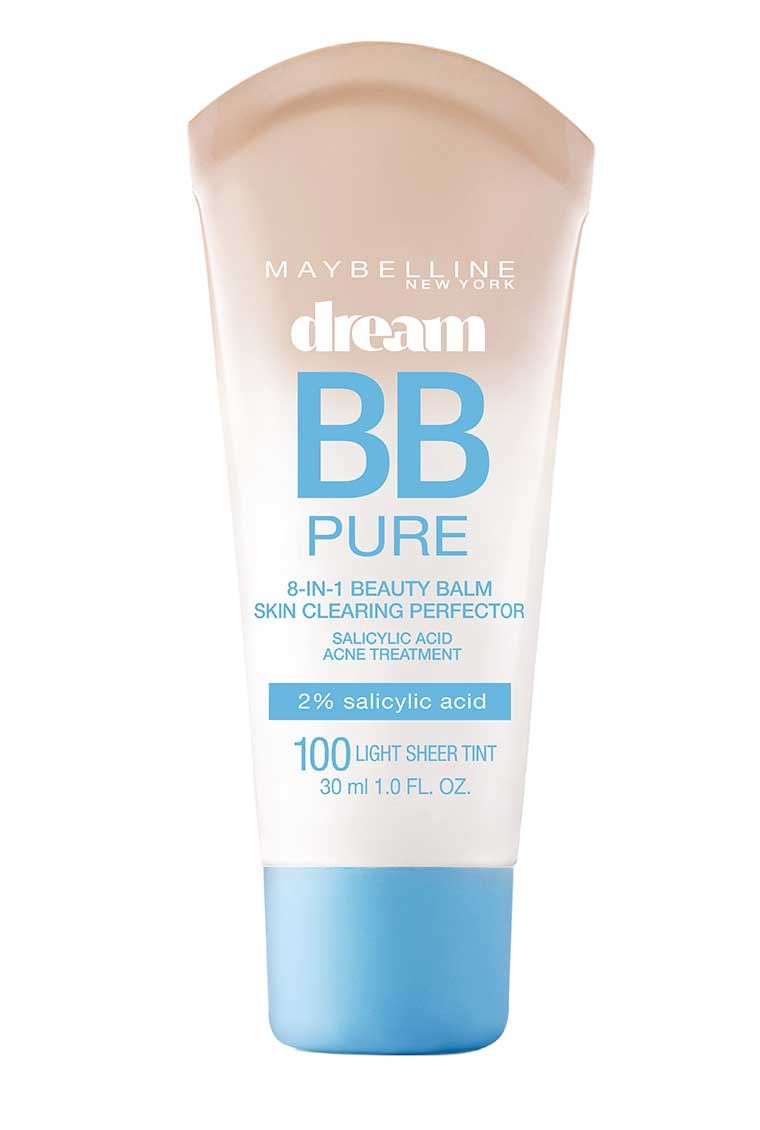 Dream Pure BB Cream Face Makeup by Maybelline With salicylic acid
