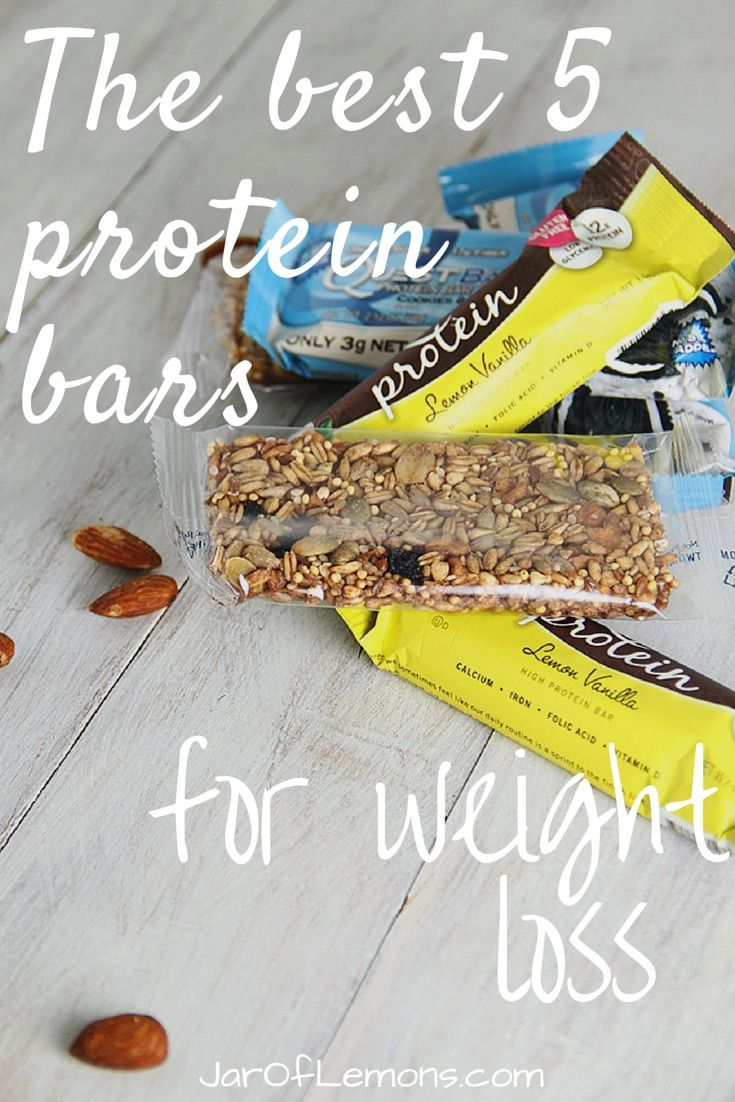 Incroyable Top 5 Protein Bars For Weight Loss