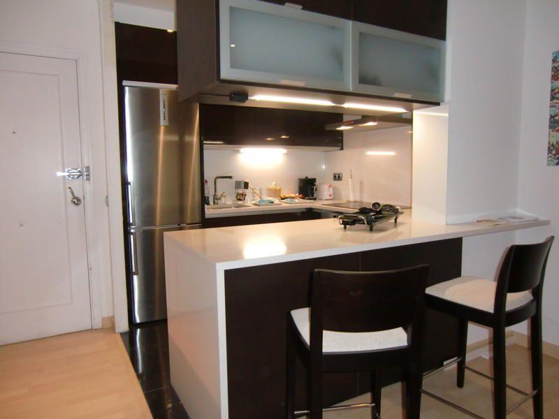 Idea de cocina americana peque a proyecto cocina for Muebles de cocina americana pequena