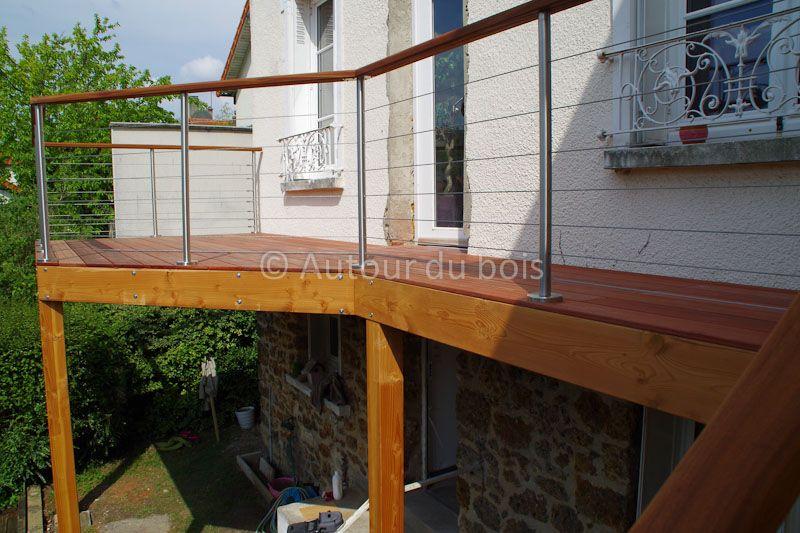 Construction terrasse bois Paris terasa Pinterest