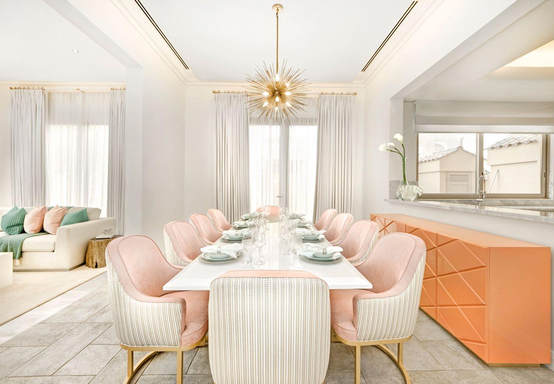 Go Inside Caroline Stanbury's Insane Dubai Home  Room Interiors New Dining Room Furniture Dubai Inspiration Design