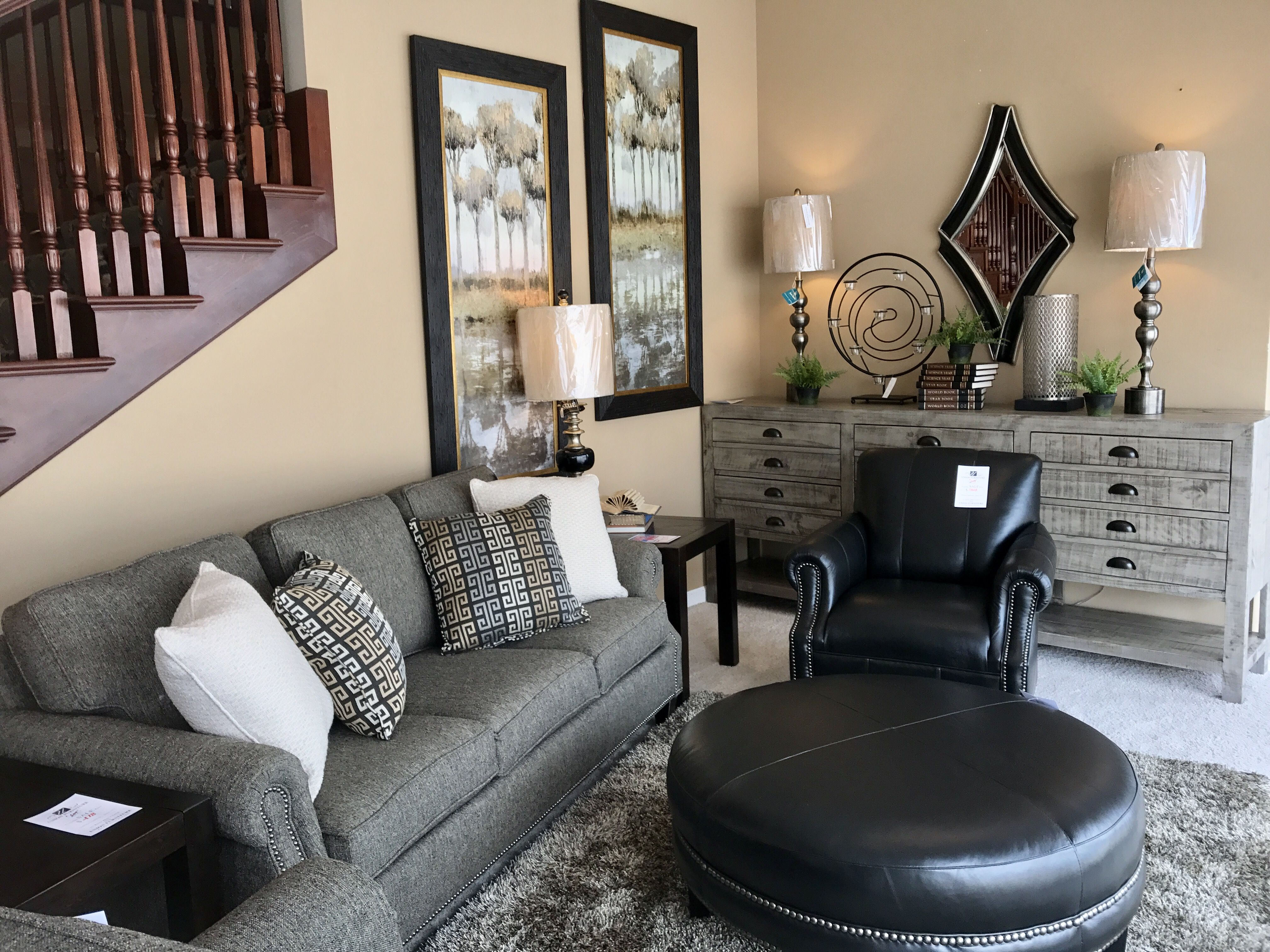 Mayo Sofa Leather Chair And Ottoman Chair And Ottoman Sofa