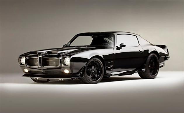 1,200 Horsepower Blacked Out Pontiac Firebird » Design You