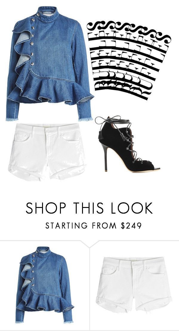 """""""It's Gonna Be May"""" by patricksa ❤ liked on Polyvore featuring Marques'Almeida and Mother"""