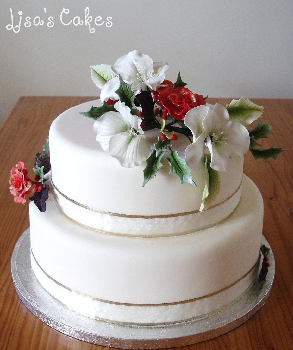 Wix.com | Christmas wedding cakes, Christmas wedding and Wedding cake