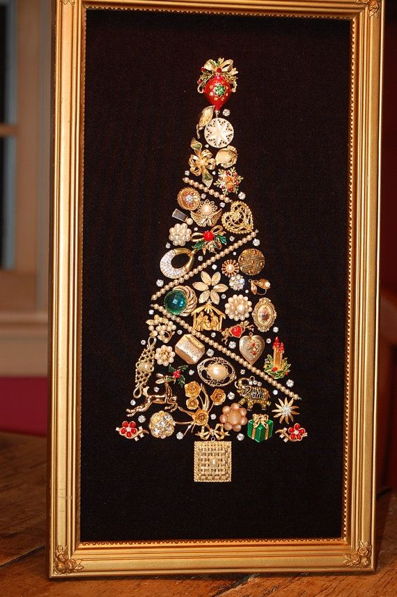 What to do with broken jewelry? | General | Jewelry christmas tree ...