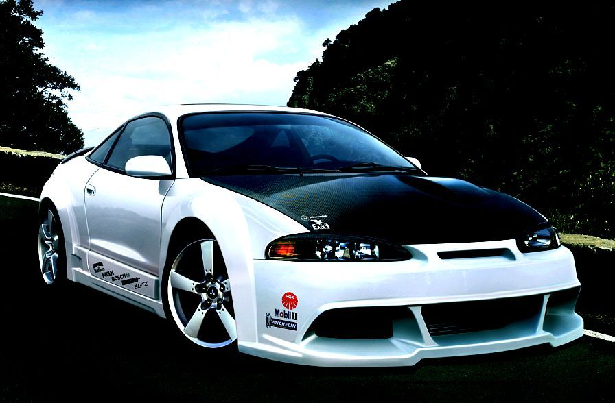 mitsubishi eclipse wallpaper. mitsubishi eclipse custom body kit cars of the year wallpaper