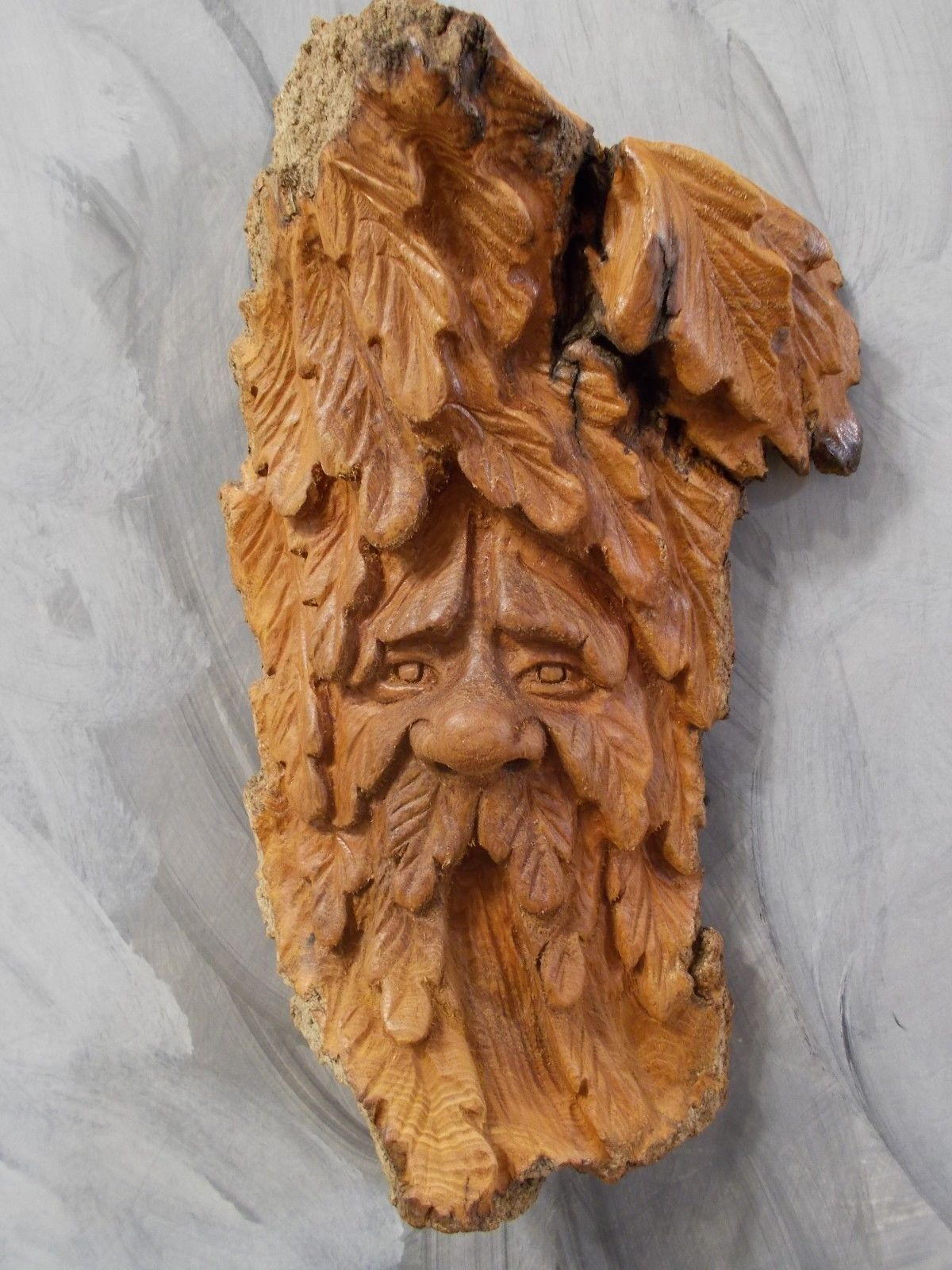 Knotty wood spirits greenman