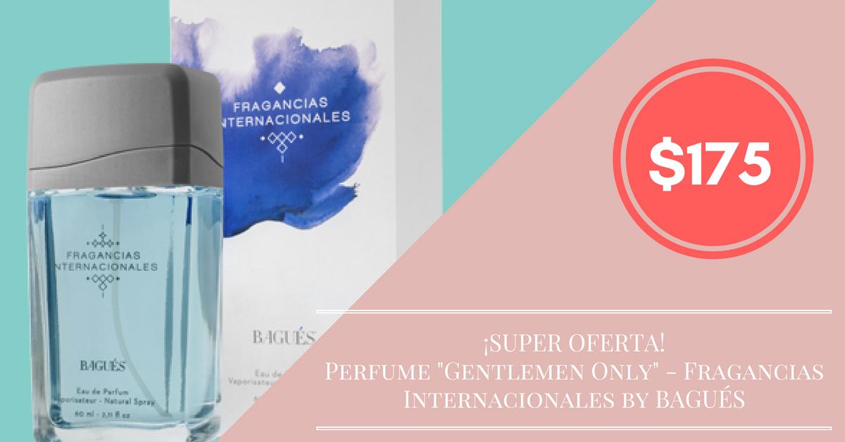 "Perfume ""Gentlemen Only"" Fragancias Internacionales by"
