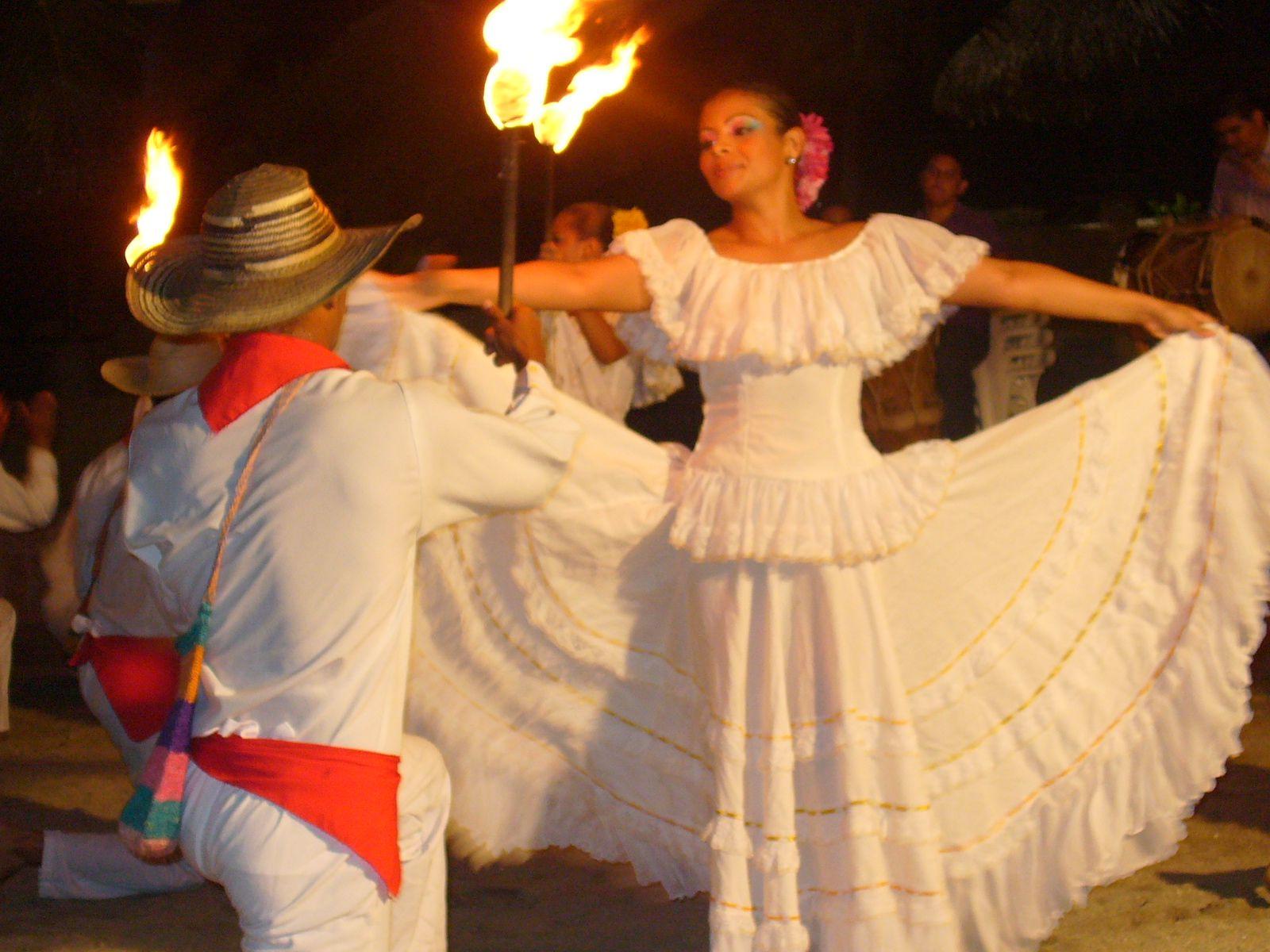 Cumbia is a Colombian dance. Colombia.....mi tierra