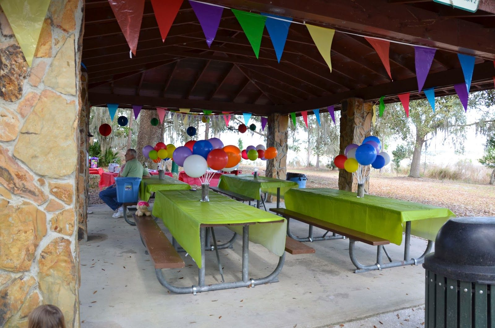 Decorating Ideas > Pavilion Decorating Fall Colors  Camping Bday  Pinterest  ~ 211929_Birthday Party Ideas Park