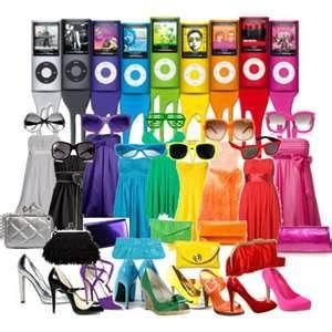 rainbow of colors