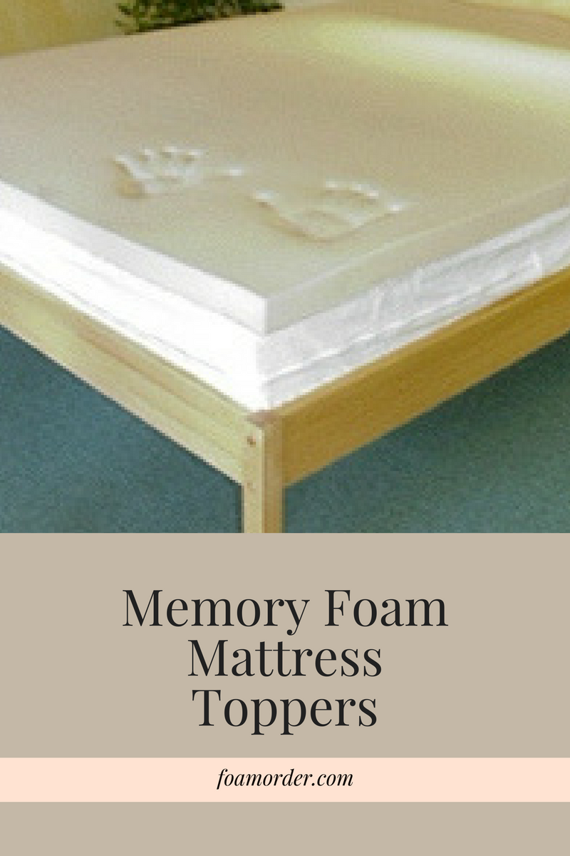 Memory Foam Mattress Toppers Similar To Tempurpedic Make Mattresses Much More Comfortab Memory Foam Mattress Memory Foam Mattress Topper Foam Mattress Topper