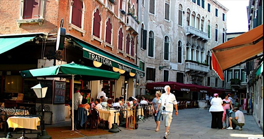 Trattoria da Roberto, in Venice.  We had a really nice meal here one night.