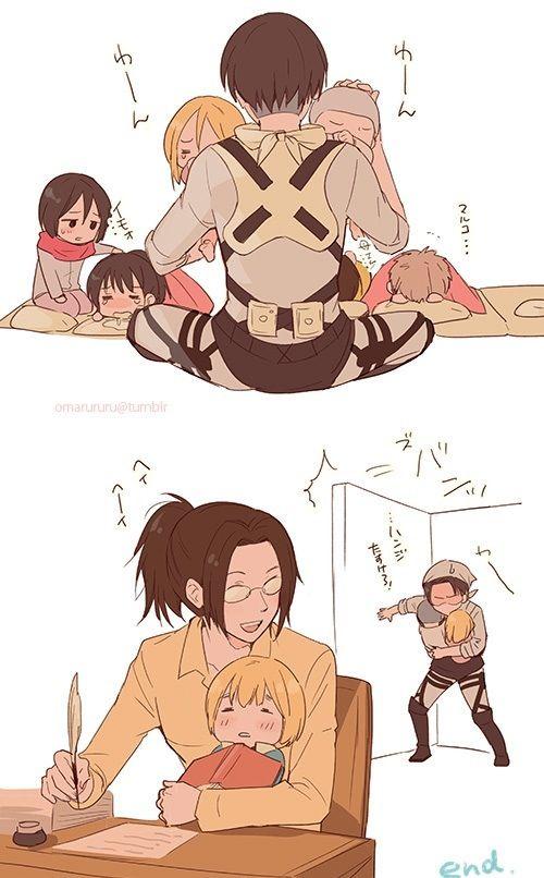 Yep, this is the life (I shall cosplay Hanji *w*)