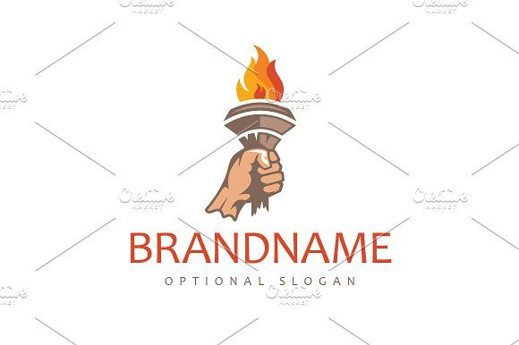 Flame Of Inspiration Logo Music Logo Design Logo Design