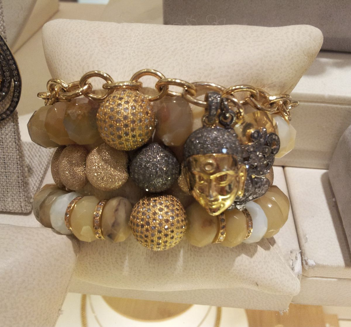 5edcace5c0e Jewelry Week: Sheryl Lowe | The Look | Jewelry, Braided bracelets ...
