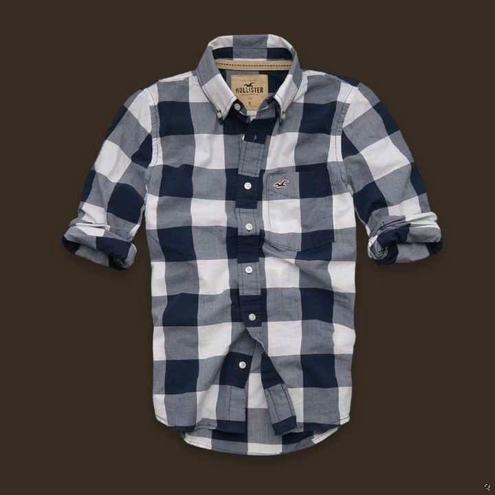 hollister shirts for men blue - photo #42