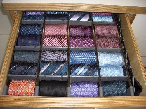 Tie Drawer Closet Hacks Organizing Closet Organization Designs Modern Closet
