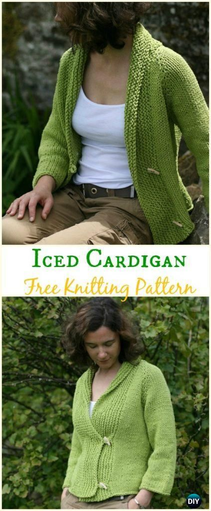 16 knitting and crochet Patterns sweater coats