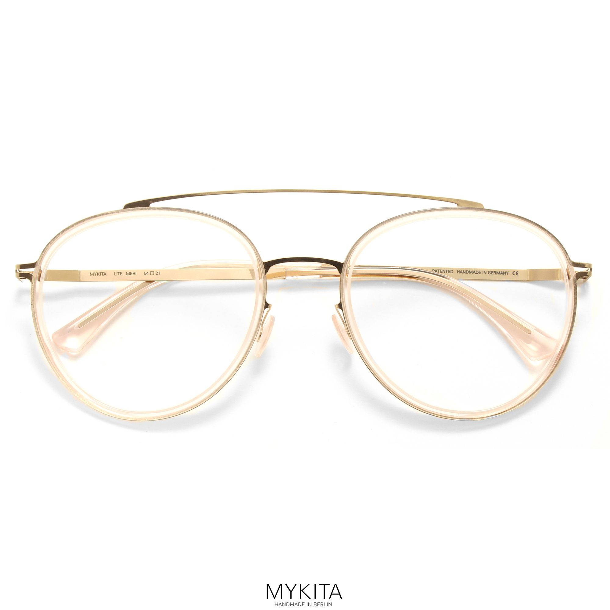 ee1f747afaf The MYKITA    MERI features a classic aviator shape for woman with a modern  construction