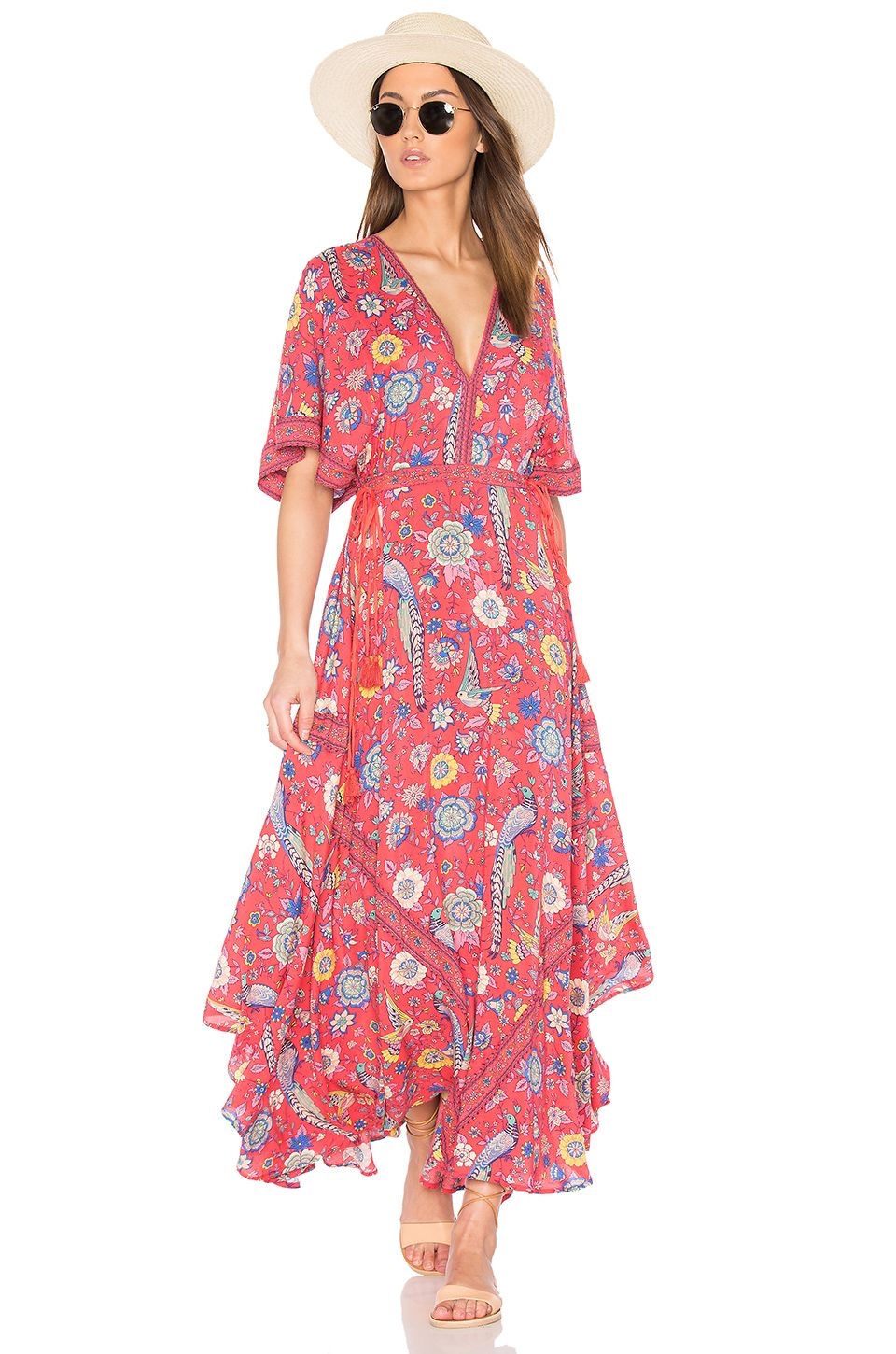 Spell & The Gypsy Collective Half Moon Gown in Rose | REVOLVE | Wish ...