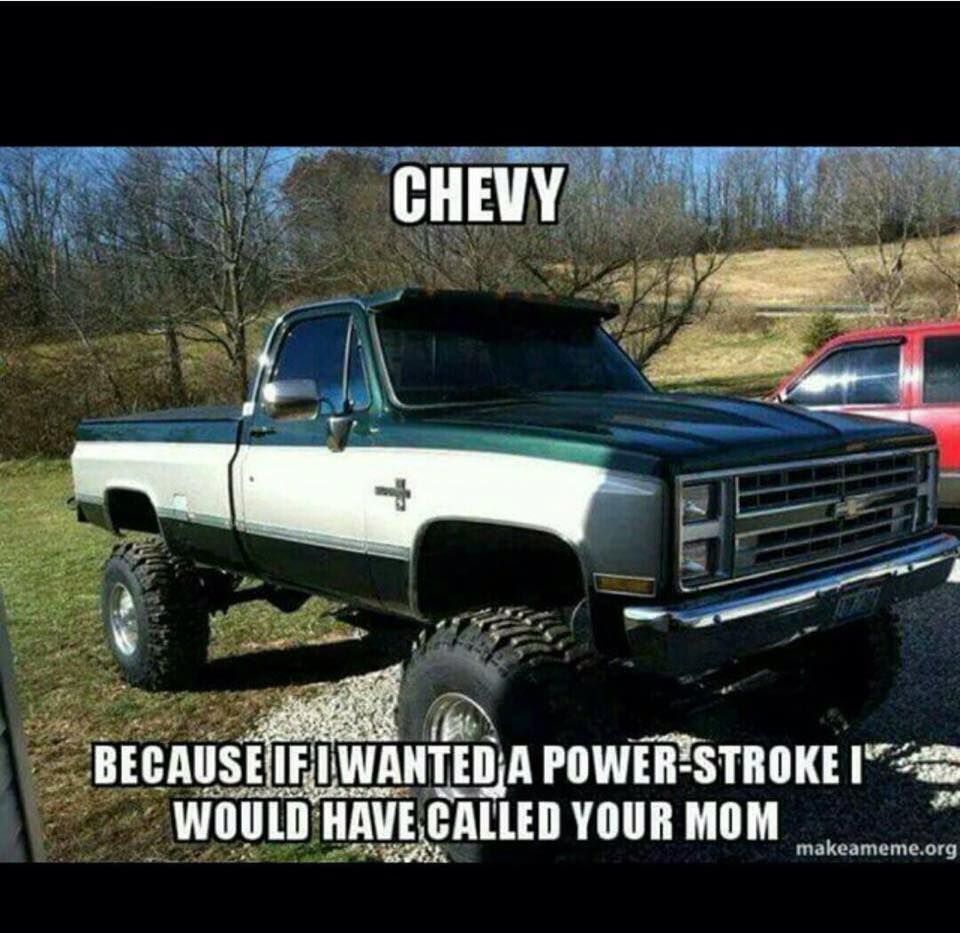Powerstroke | Chevy and GMC trucks | 85 chevy truck, Lifted ...