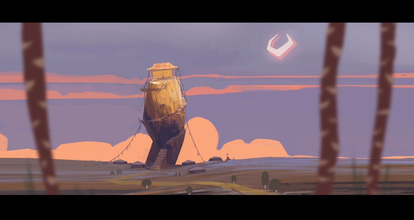 Sakhius Gal Concept David Gau Art Animation Background Concept Art