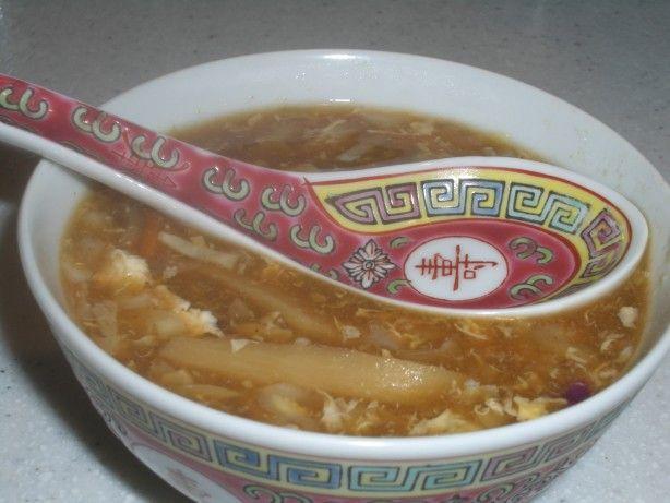 Hot And Sour Soup Betty Foo Hunan Restaurant