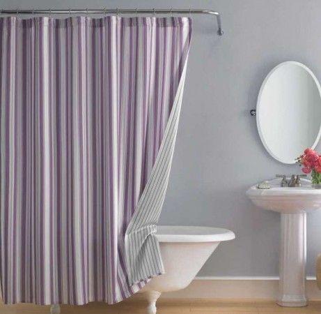 Bathroom Luxurious Shower Curtain For Clawfoot Tub Nautical