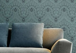 Charcoal Interiors - Style In The City Spring Inspirations.  Beautiful fabric and wallpaper options available instore!