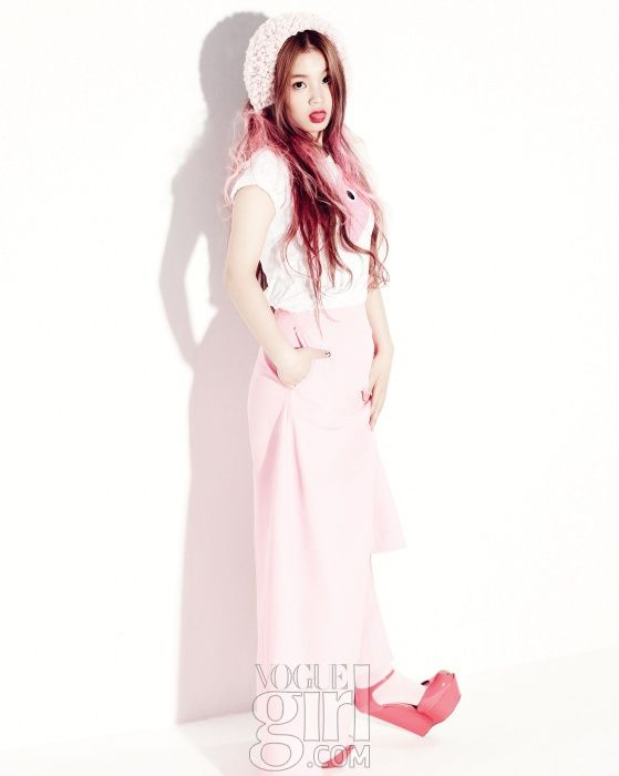 Lee Hi - Vogue Girl Magazine May Issue '13