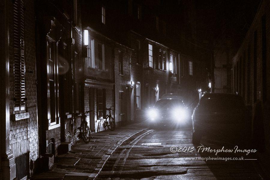 Cambridge backstreets.
