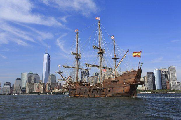 Un galeón español del XVII en Nueva York