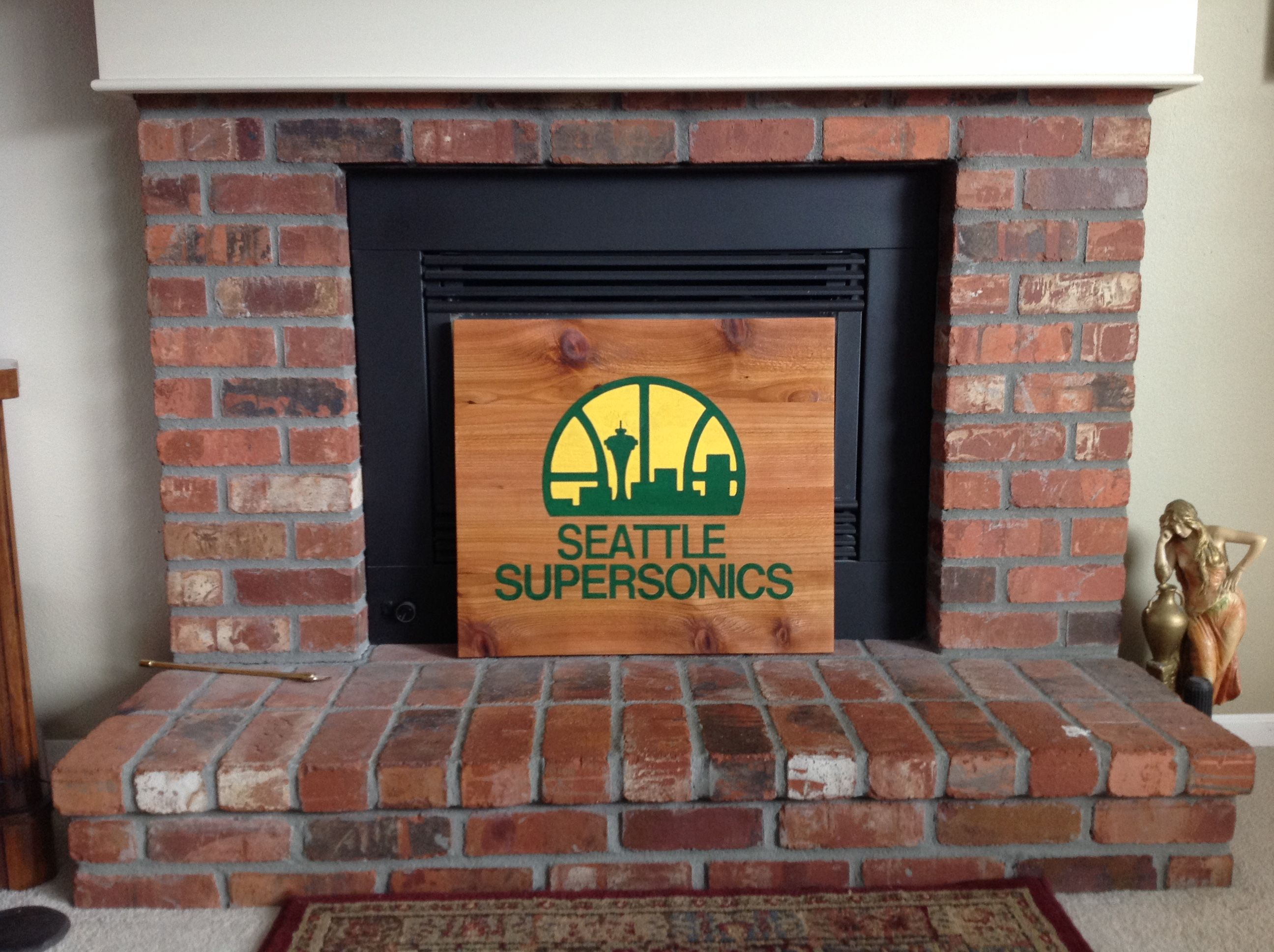 Seattle Supersonics Logo